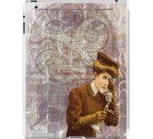 Steam Punk Lady Telephone Gears iPad Case/Skin