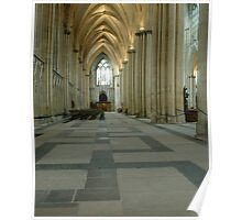 York Minster interior (cathedral) England Poster