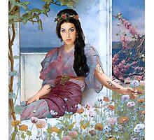 Mediterranean Summer of Amy Photographic Print