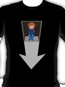 Scott Pilgrim - Elevator to the Chaos Theatre T-Shirt