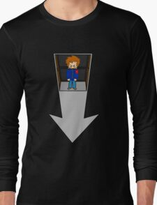 Scott Pilgrim - Elevator to the Chaos Theatre Long Sleeve T-Shirt