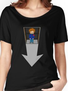 Scott Pilgrim - Elevator to the Chaos Theatre Women's Relaxed Fit T-Shirt