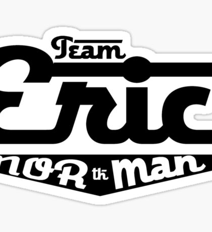 Team Eric Northman (black) Sticker