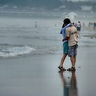 Romance on a Misty Beach by Carrie Blackwood