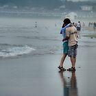 Romance on a Misty Beach by Carrie Blackwood