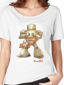 Robot Papa Women's Relaxed Fit T-Shirt
