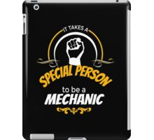 Special Person - Mechanic iPad Case/Skin