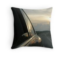 Traveling Sunset I Throw Pillow
