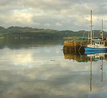 The Boat In The Harbour by Jamie  Green