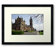 Glasgow University, Glasgow Scotland Framed Print