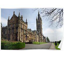Glasgow University, Glasgow Scotland Poster