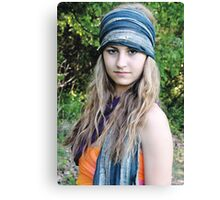 Teenage Gypsy Canvas Print