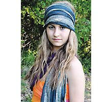 Teenage Gypsy Photographic Print