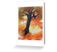 'Searching for a Place to put down Roots' Greeting Card