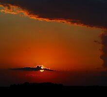 Summer sunset by Wheelssky