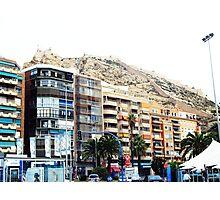 street scene spain Photographic Print