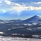 Panorama - Wicklow Mountain by ezequielm