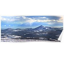 Panorama - Wicklow Mountain Poster