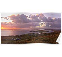 Panorama - sky Road Poster