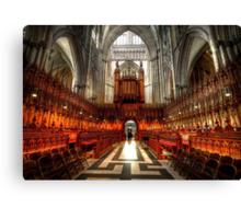 York Minster Glory Canvas Print