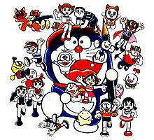 doraemon stand by me Photographic Print