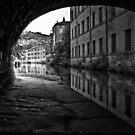 Rochdale Canal, Hebden Bridge by inkedsandra