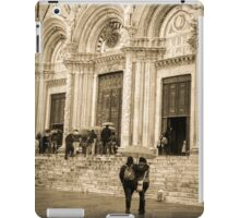 Friends at Siena Duomo  iPad Case/Skin