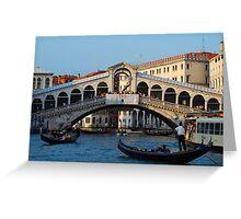 Rialto, Venice Greeting Card