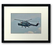 Royal Navy Black Cats Framed Print