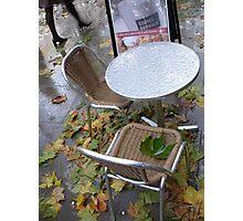 Coffee table Photographic Print