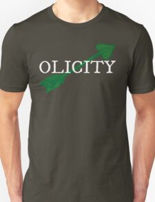 Olicity - Green Heart Arrow T-Shirt