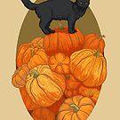 Pumpkin Cat by beesants