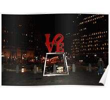 love park and ice skating  Poster