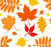 Classic Leaves Pattern by XOOXOO