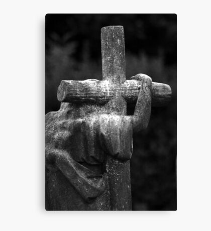 The Cross We Bare Canvas Print