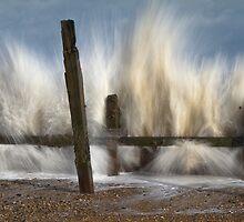 Big splash at the seaside by BeardyGit