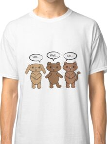 What To Say Animals Classic T-Shirt