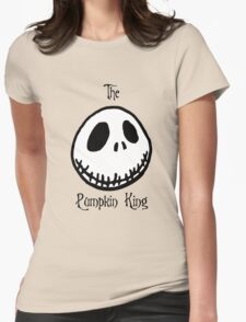Jack The Pumpkin King Womens Fitted T-Shirt