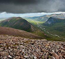 Glen Dee, Cairngorms, Scottish Highlands by David Lewins