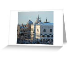 St Mark's Domes, Venice Greeting Card
