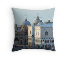 St Mark's Domes, Venice Throw Pillow