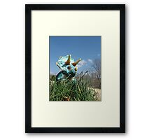 Grazing Framed Print