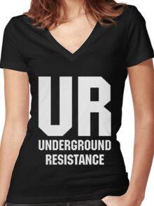 ur 2 Women's Fitted V-Neck T-Shirt