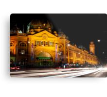 9:45 at Flinders Street Station - Melbourne Metal Print