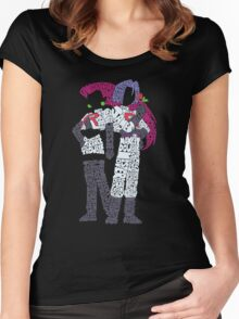 Rocket Motto Women's Fitted Scoop T-Shirt