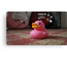 The Pink Duck Canvas Print