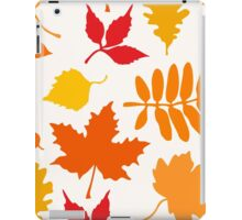 Classic Leaves Pattern iPad Case/Skin