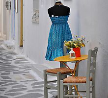 Table, Chairs and Dress by Peter Hammer