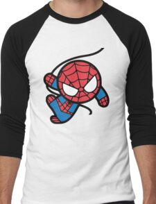 Crazy spider man Men's Baseball ¾ T-Shirt
