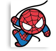 Crazy spider man Canvas Print